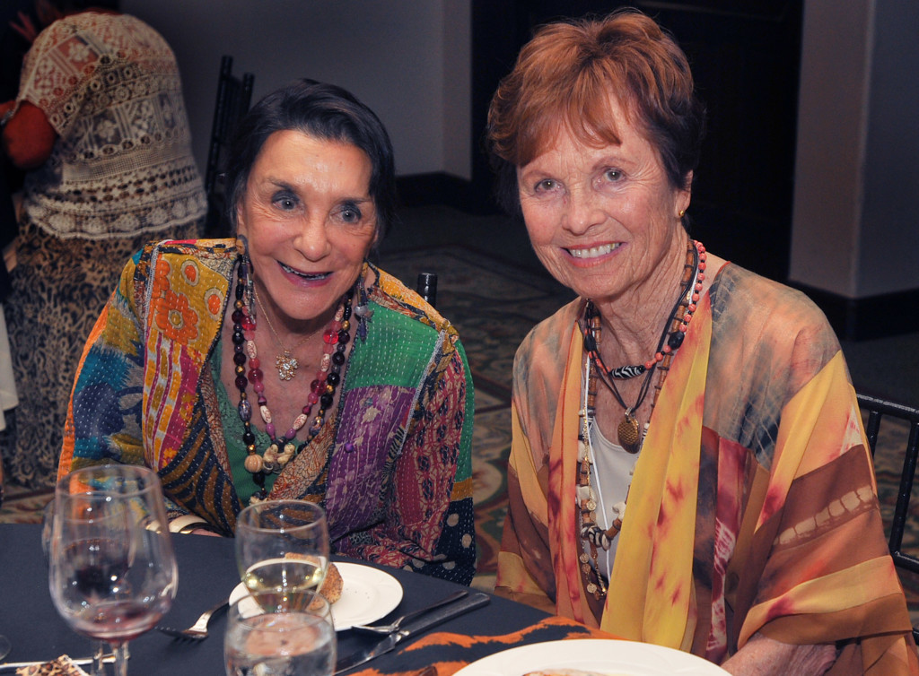 Stella Horton and Carolyn Ayers, longtime H.E.L.P. supporters.