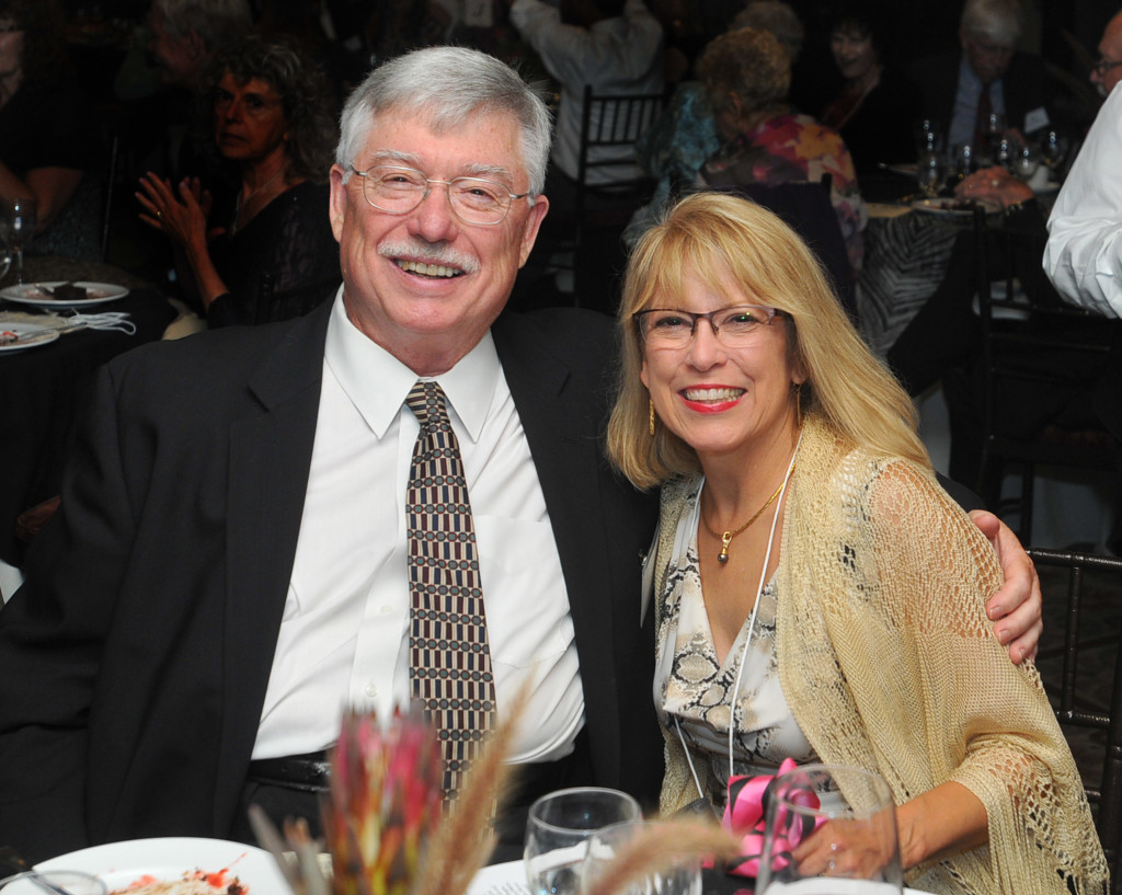 Ron and Shelley Johnston, Gala committee Decor Chair.