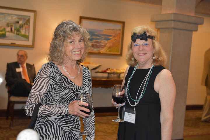 Rosalie Abelson, Underwriter, with Karen Gottlieb, Advisory Board and Gala Committee memter.